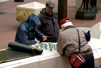Gents Playing Chess