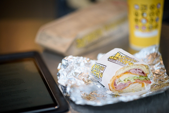 Lunch at Which Wich