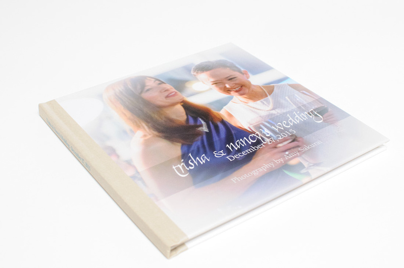 Trisha and Nancy's Wedding Photo Book