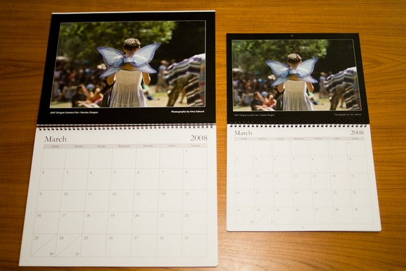Calendars by Amy