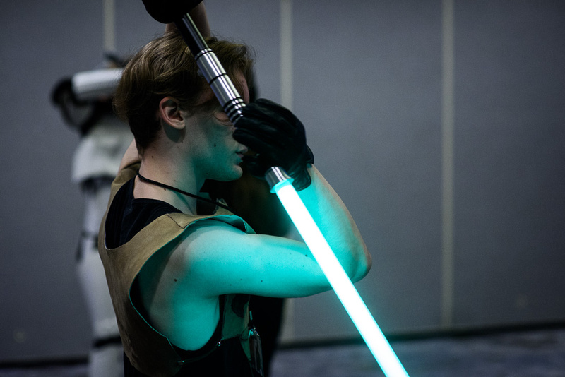 Felucia Temple Saber Guild: Lightsaber Fight Choreography