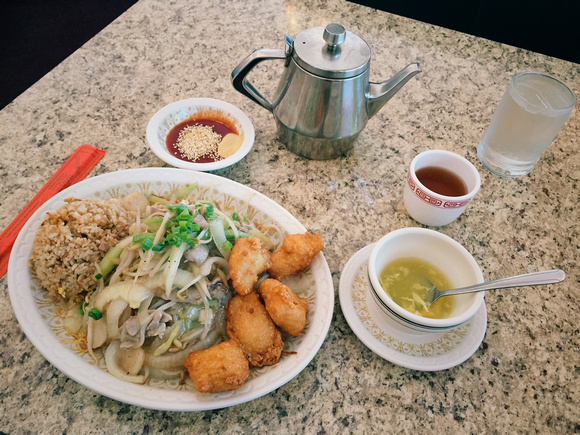 Combination Lunch at Chiam Restaurant